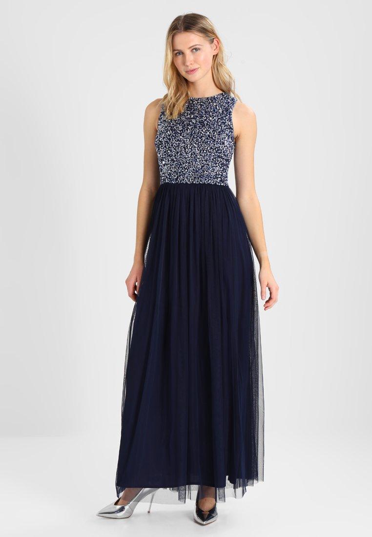 Lace & Beads - PICASSO MAXI - Společenské šaty - midnight blue
