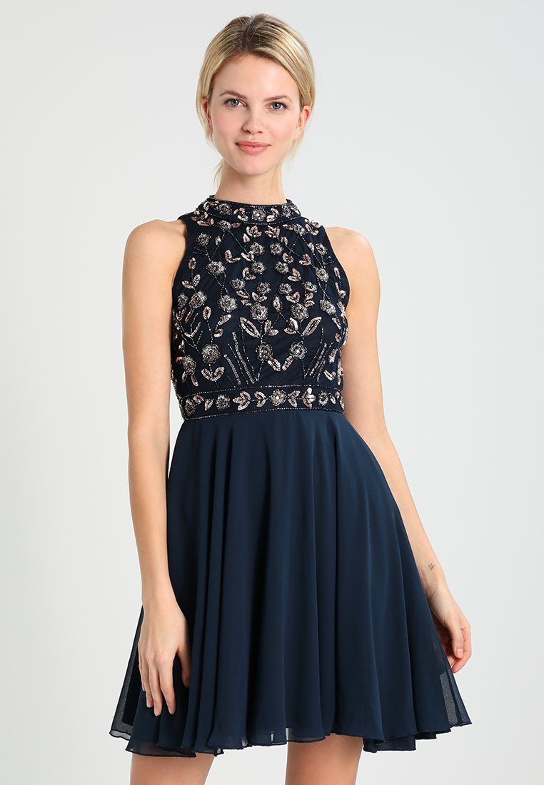 Lace & Beads - ALLEY SKATER - Cocktail dress / Party dress - navy