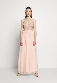 Lace & Beads - CELIA MAXI - Occasion wear - nude - 1