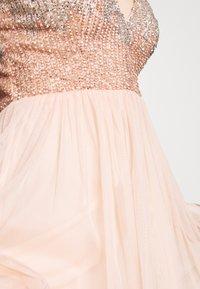 Lace & Beads - CELIA MAXI - Occasion wear - nude - 4