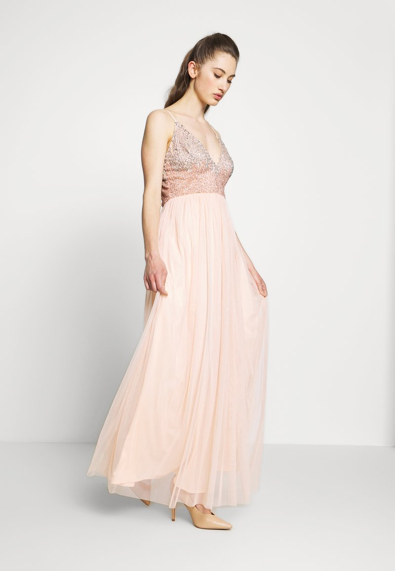 Lace & Beads - CELIA MAXI - Occasion wear - nude