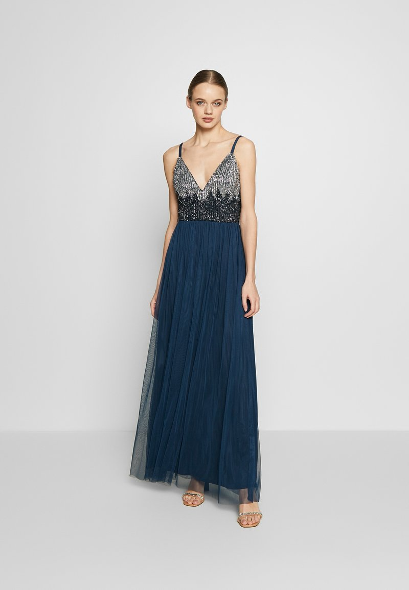 Lace & Beads - CELIA MAXI - Occasion wear - navy
