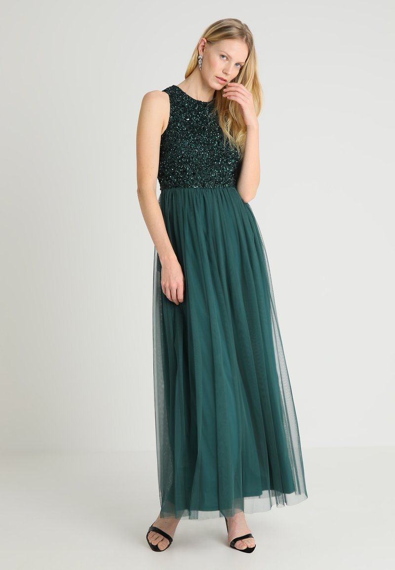 Lace & Beads - PICASSO - Ballkleid - green