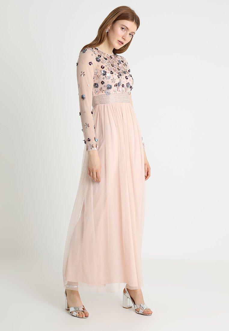 Lace & Beads - NIVEDITA  - Ballkleid - nude
