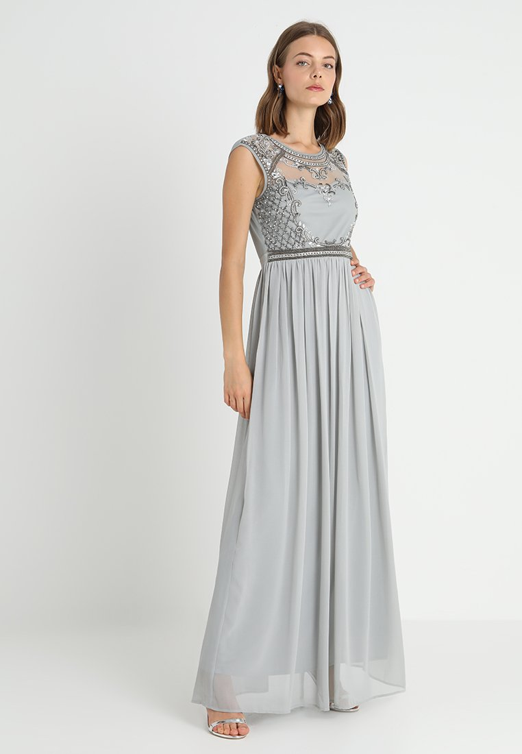 Lace & Beads - SHERRY - Occasion wear - grey
