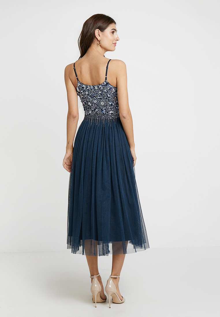 Lace & Beads - RIRI MIDI - Sukienka koktajlowa - navy