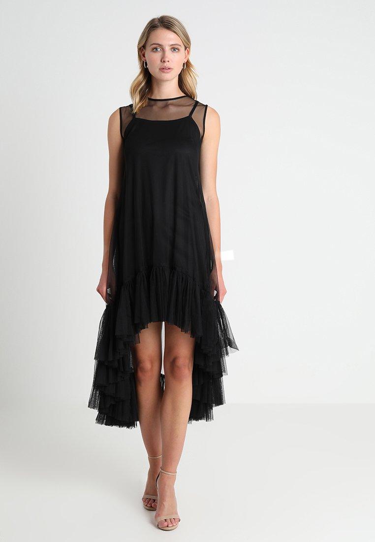 Lace & Beads - FLAMINGO DRESS - Maxi dress - black