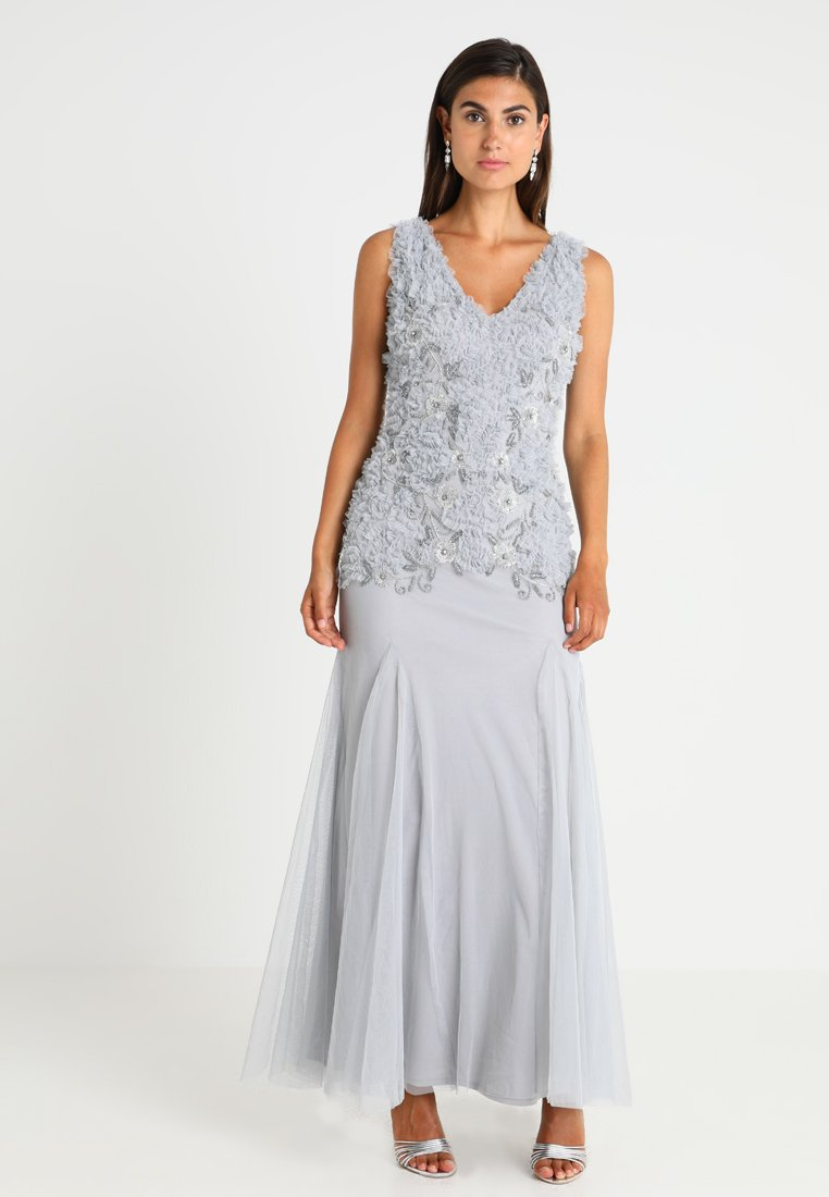 Lace & Beads - BANNI MAXI - Galajurk - grey