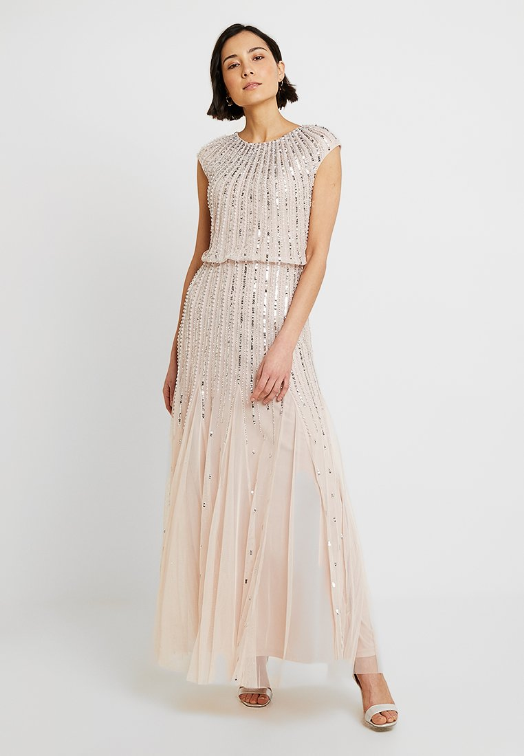 Lace & Beads - MAJE - Robe de cocktail - blush