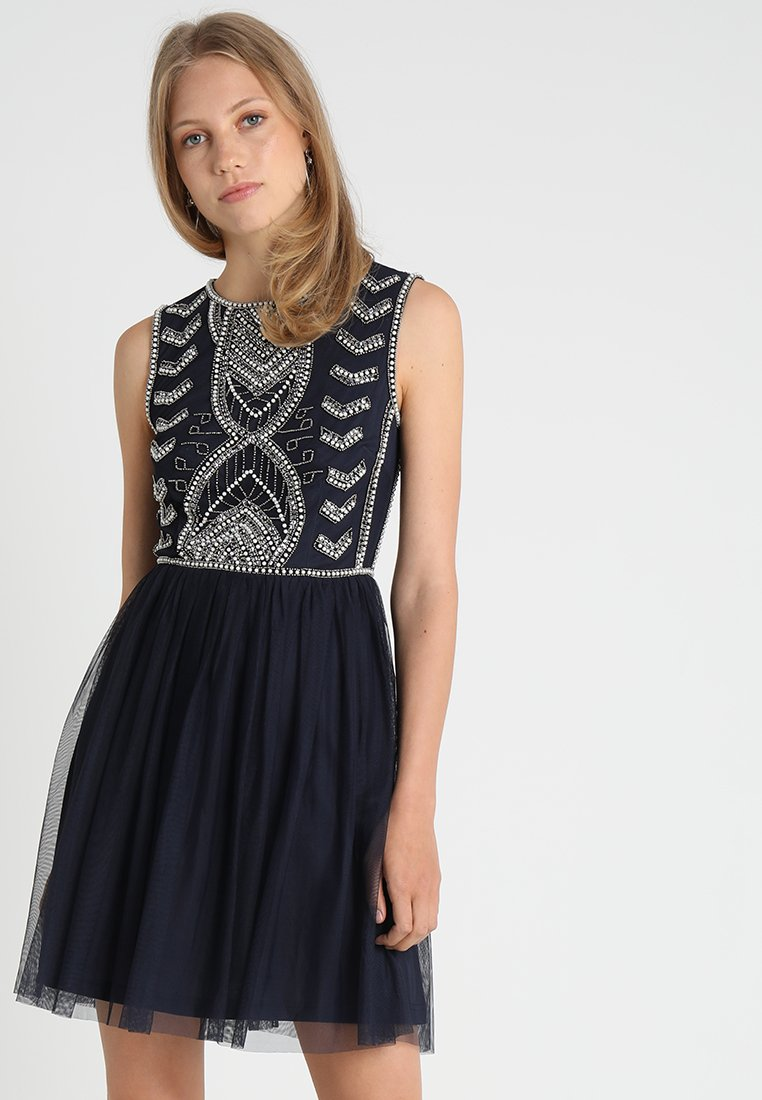 Lace & Beads - MAICAO SKATER - Cocktailjurk - navy