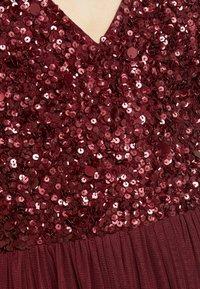 Lace & Beads - ALICE MAXI - Galajurk - burgundy - 6