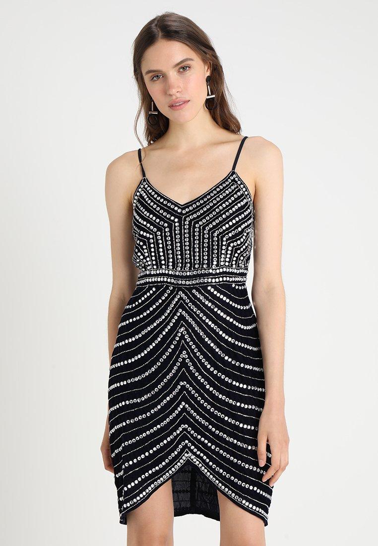 Lace & Beads - MASAL DRESS - Cocktailkleid/festliches Kleid - navy