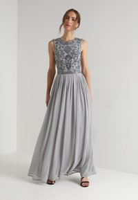 Lace & Beads - PAULA MAXI - Iltapuku - light grey - 0