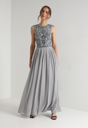 PAULA MAXI - Iltapuku - light grey