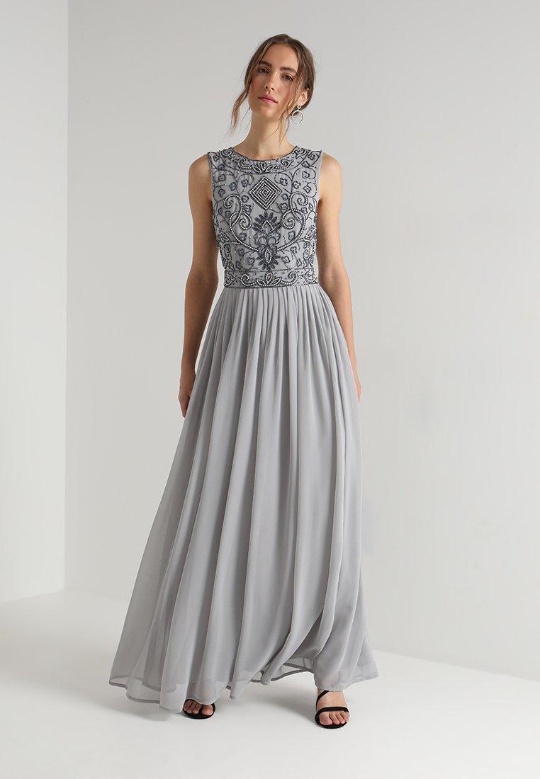 Lace & Beads - PAULA MAXI - Galajurk - light grey