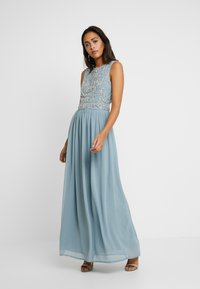 Lace & Beads - PAULA MAXI - Galajurk - light blue - 2