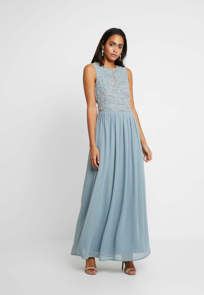 Lace & Beads - PAULA MAXI - Galajurk - light blue