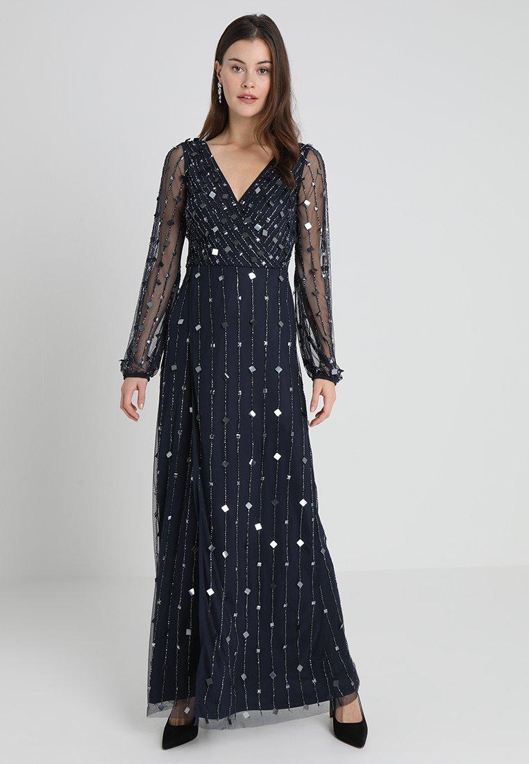 Lace & Beads - MARTNA MAXI - Ballkleid - navy