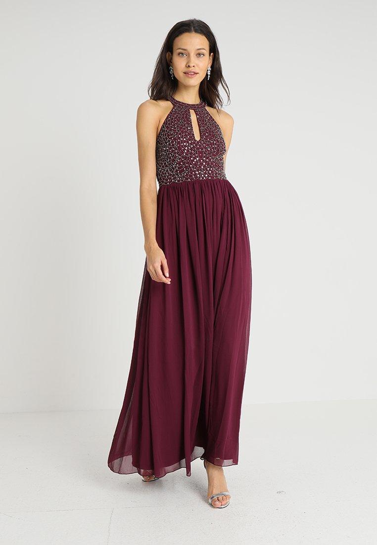 Lace & Beads - LESHIL MAXI - Ballkleid - burgundy