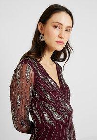 Lace & Beads - MAJIC DRESS - Cocktailkjole - bordeaux - 4