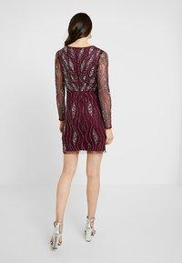 Lace & Beads - MAJIC DRESS - Cocktailkjole - bordeaux - 3