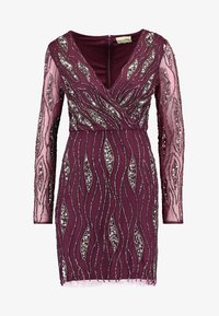 Lace & Beads - MAJIC DRESS - Cocktailkjole - bordeaux - 6