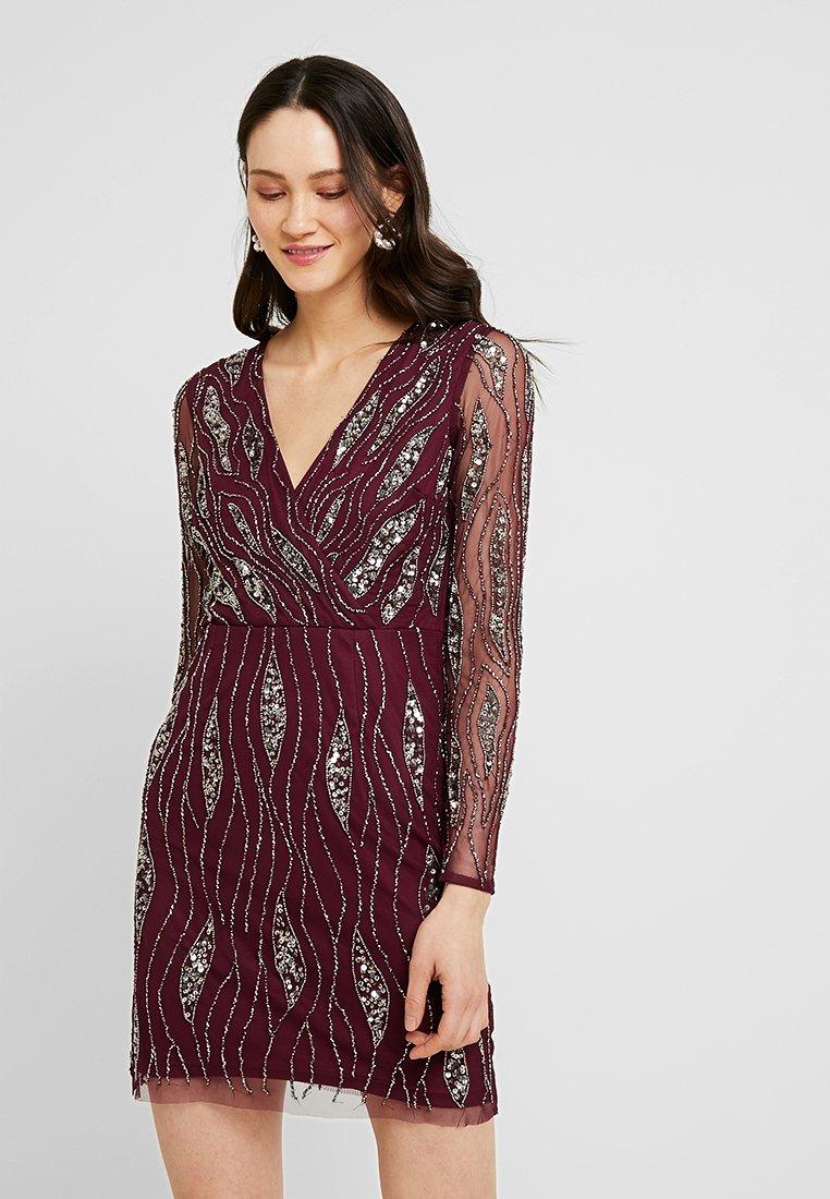 Lace & Beads - MAJIC DRESS - Cocktailkjole - bordeaux