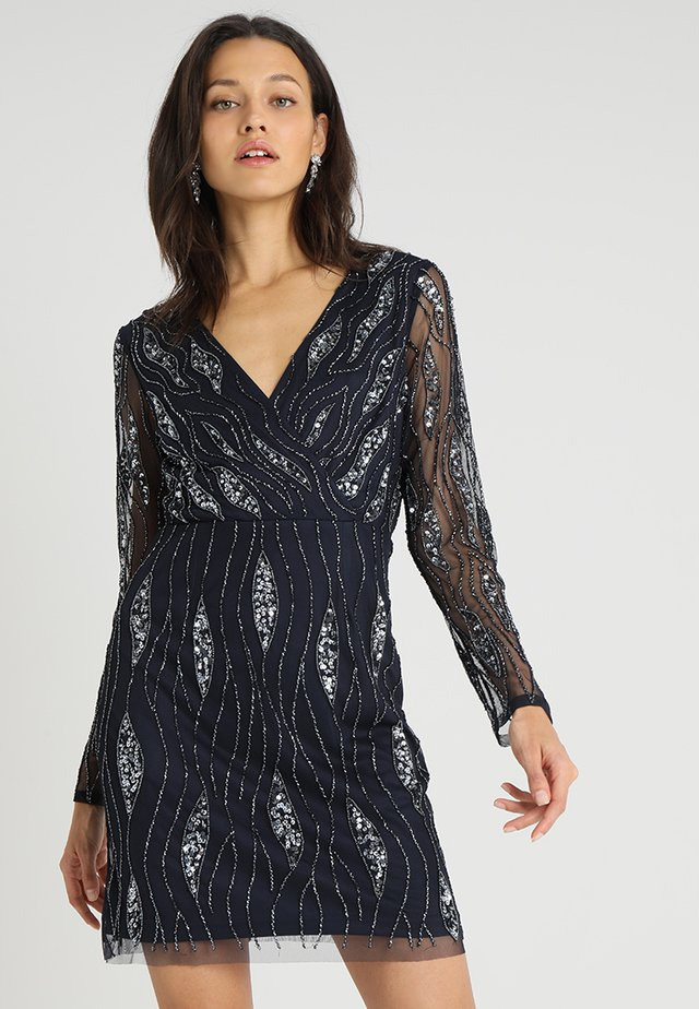 MAJIC DRESS - Cocktail dress / Party dress - navy