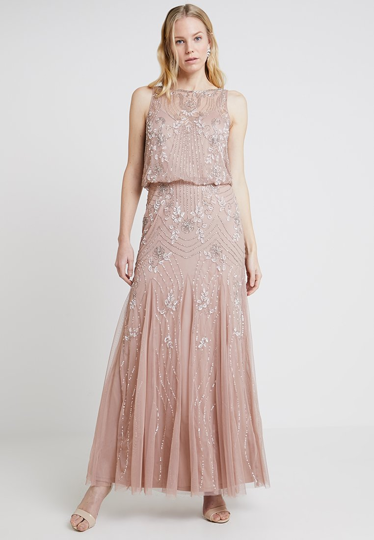 Lace & Beads - MACY MAXI - Occasion wear - mink