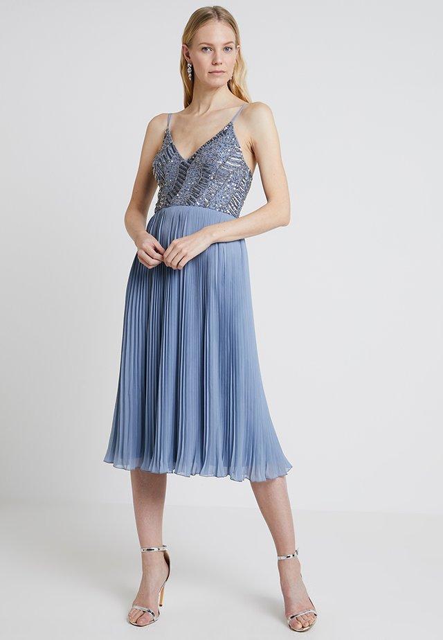 SAMANTHA DRESS - Cocktail dress / Party dress - blue