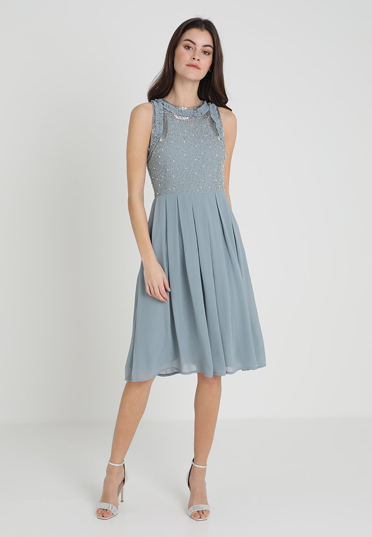 Lace & Beads - JUNO DRESS - Vestido de cóctel - blue