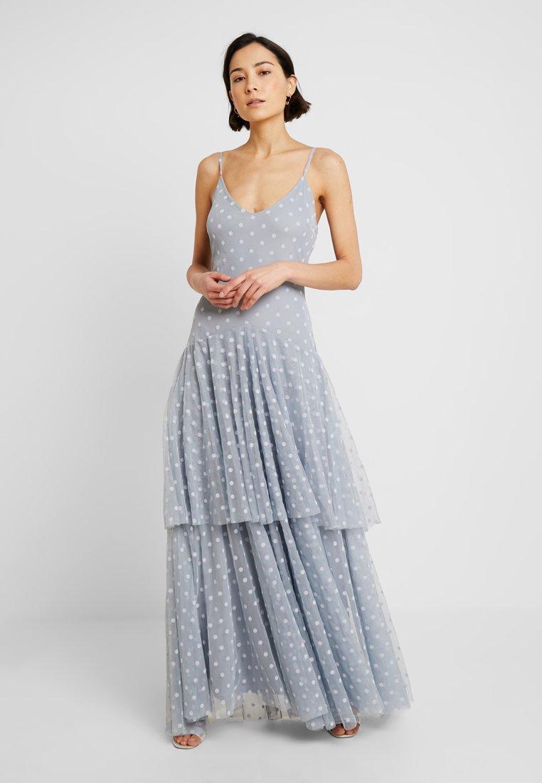 Lace & Beads - DINIA - Abito da sera - blue