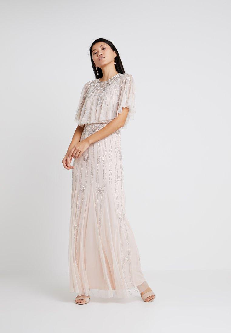 Lace & Beads - PETRA MAXI - Společenské šaty - nude