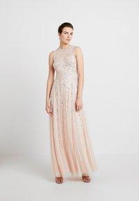 Lace & Beads - NICOLA - Společenské šaty - blush - 0