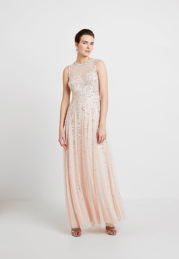 Lace & Beads - NICOLA - Společenské šaty - blush