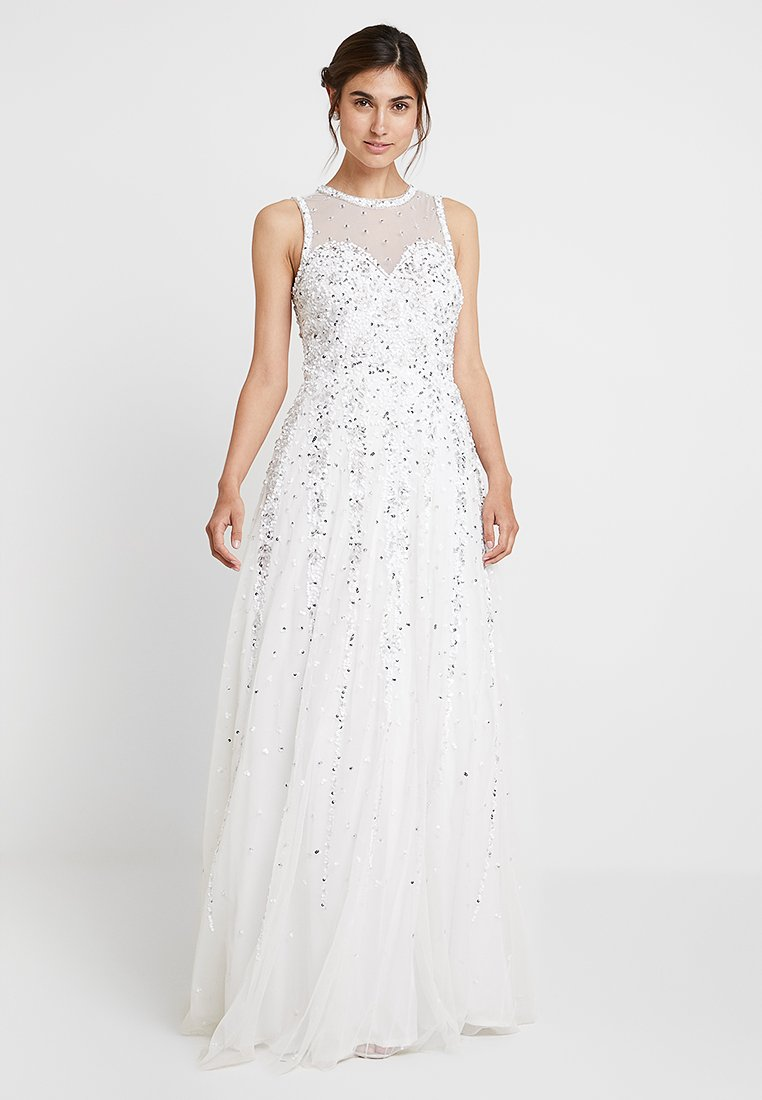 Lace & Beads - NICOLETTE GOWN - Occasion wear - white
