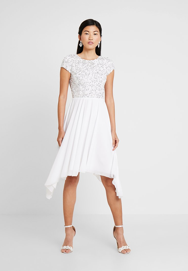Lace & Beads - NICASSO MAXI - Occasion wear - white