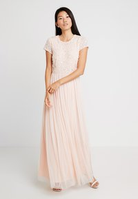 Lace & Beads - PICASSO CAP SLEEVE - Occasion wear - nude belle - 2