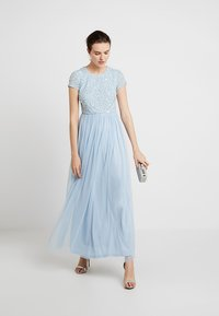 Lace & Beads - PICASSO CAP SLEEVE - Iltapuku - powder blue - 1
