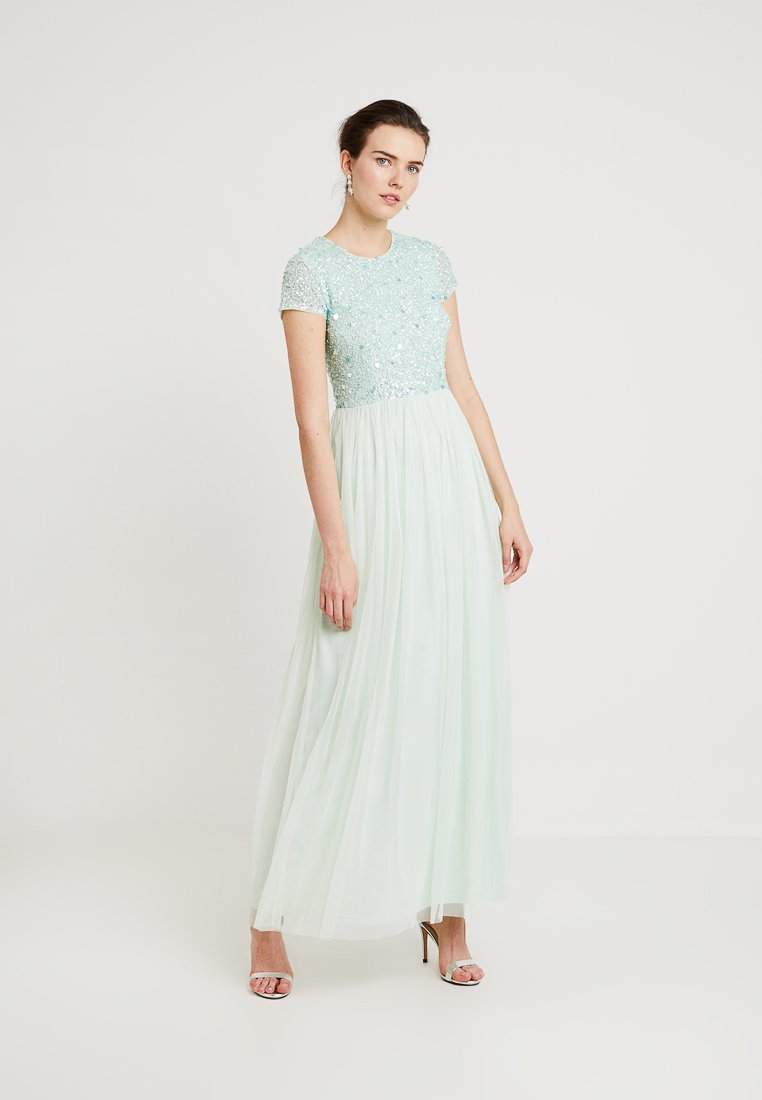 Lace & Beads - PICASSO CAP SLEEVE - Occasion wear - mint as cara