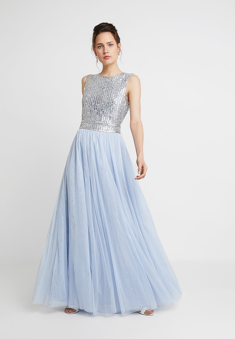 Lace & Beads - ARIANA MAXI - Abito da sera - light blue