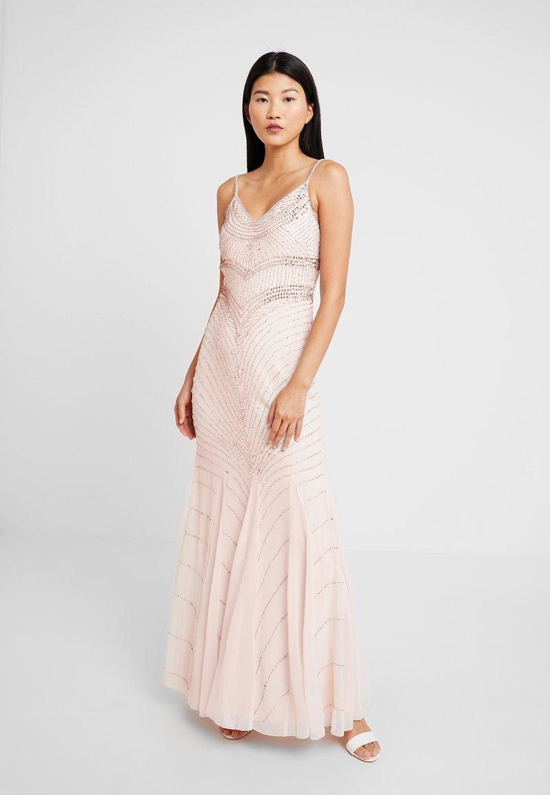 Lace & Beads - MONET MAXI - Festklänning - nude