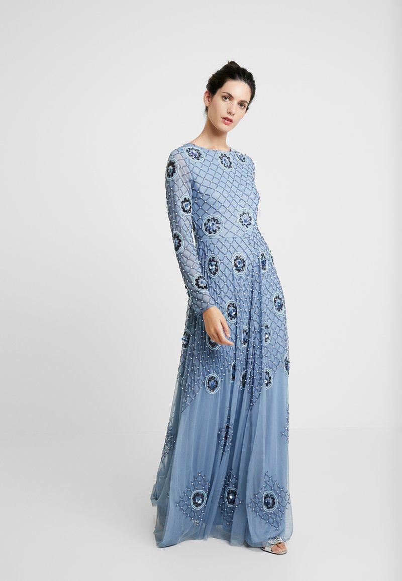 Lace & Beads - AMBER - Ballkleid - blue