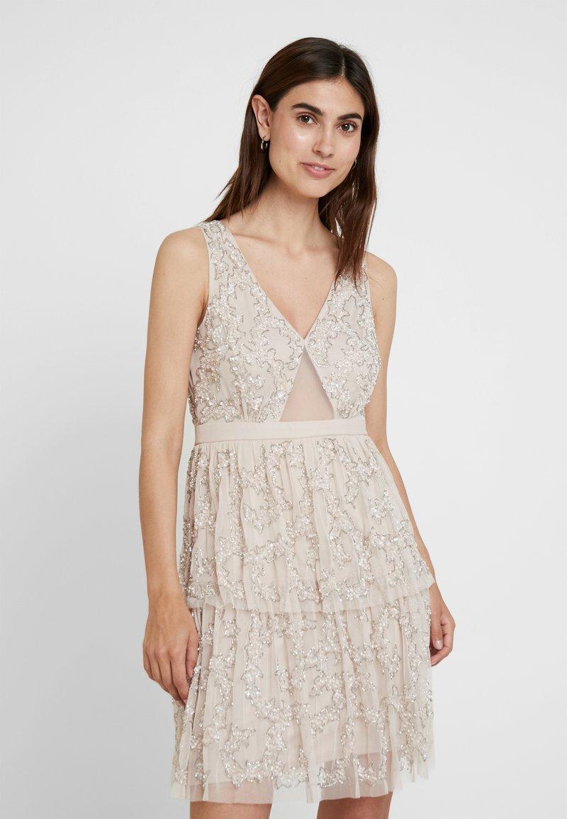 Lace & Beads - NAFMAFI DRESS - Cocktailkleid/festliches Kleid - nude