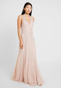 Lace & Beads - MORGAN MAXI - Galajurk - nude - 0