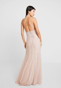Lace & Beads - MORGAN MAXI - Galajurk - nude - 3
