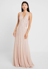 Lace & Beads - MORGAN MAXI - Galajurk - nude - 2