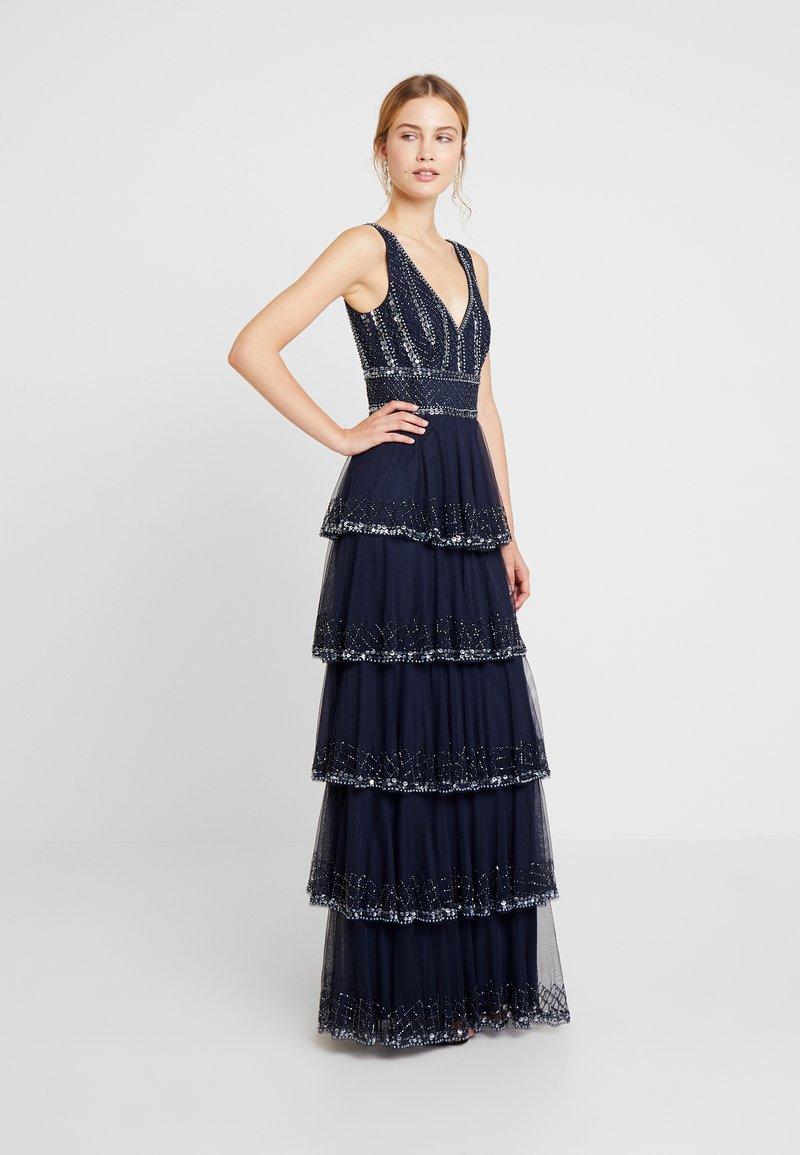 Lace & Beads - MULAN LISHKY MAXI - Occasion wear - navy