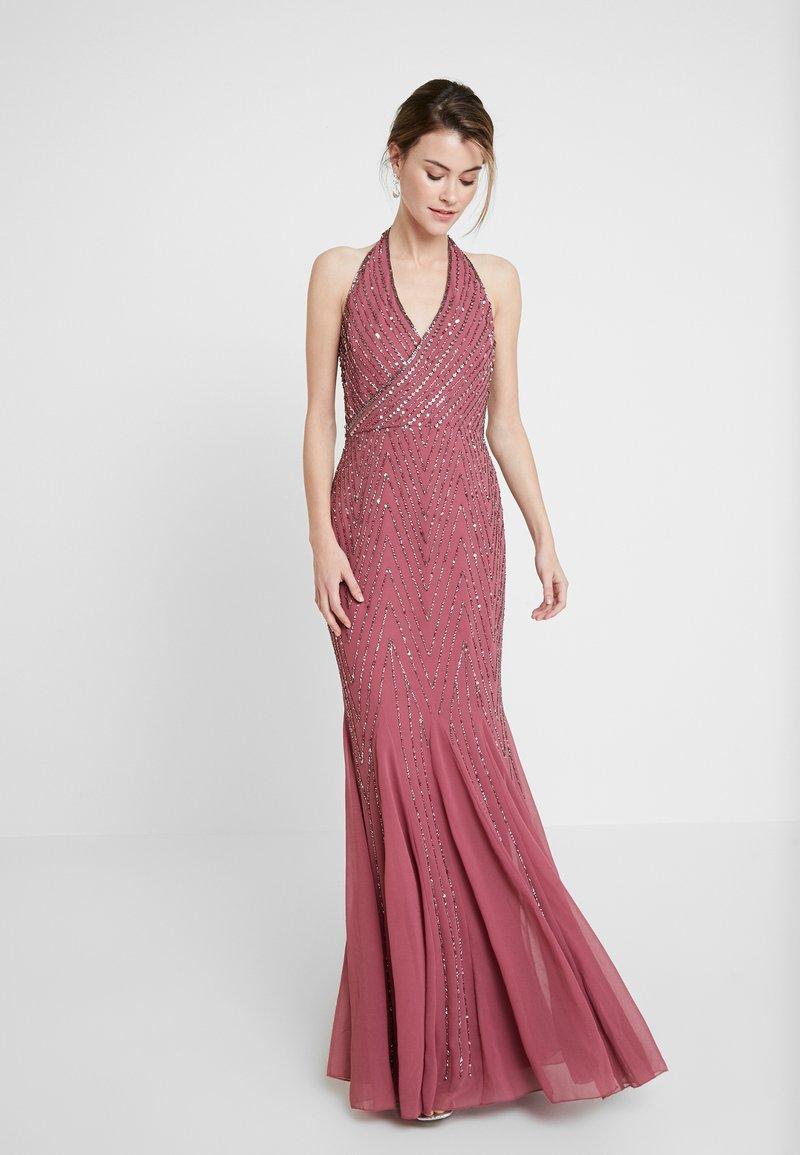 Lace & Beads - MANOU MAXI - Vestido de fiesta - dry rose