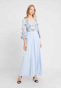 Lace & Beads - ANNIE MAXI - Suknia balowa - light blue